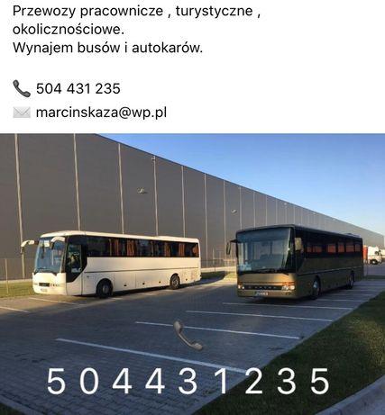 Busy i autokary Żyrardów , przewozy pracownicze , okolicznościowe