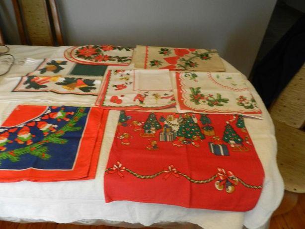 Serwetki,serwety na Boże Narodzenie-7 sztuk
