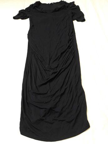 Sukienka ciążowa, rozmiar S/M, dluga, dla osoby wysokiej.