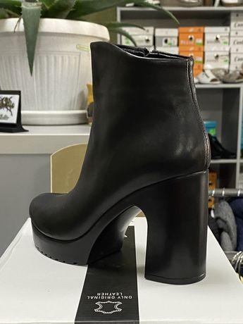 Очень удобные кожаные ботинки