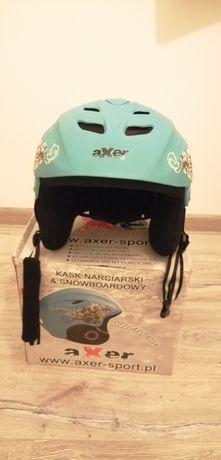 Kask narciarski /snowboardowy axer