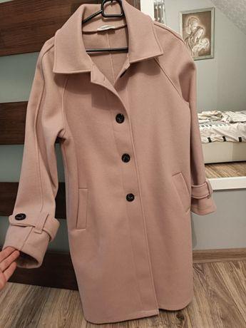 Nowy płaszcz, płaszczyk różowy M