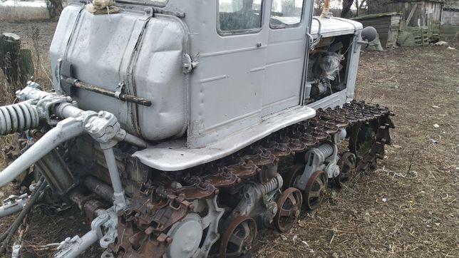 Трактор тэ74