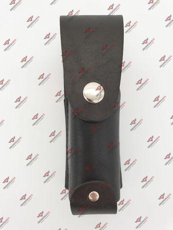 Чехол кожаный под газовый баллончик крепится на поясе один чехол