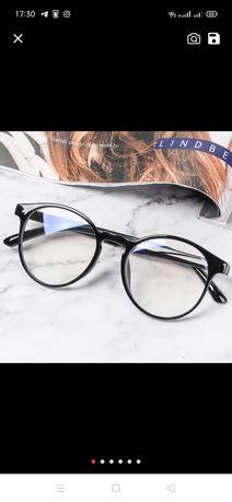 Женские прозрачные очки для имиджа )