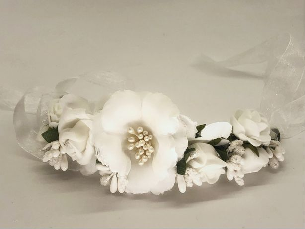 Веточка праздничная, свадебная, украшение на голову, повязка
