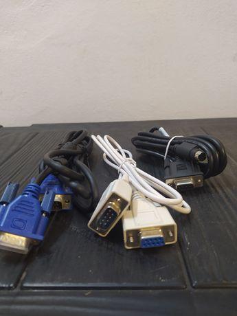 Sprzedam 3 kable VGA SVGA. 1,5m w cenie 1-go