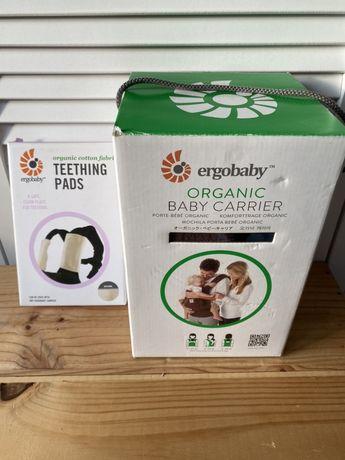 Nosidełko Ergobaby Organic + ochraniacze na szelki