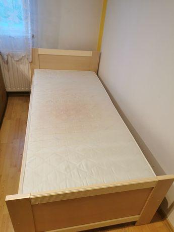 Łóżko 90x200 stelaż i szuflada