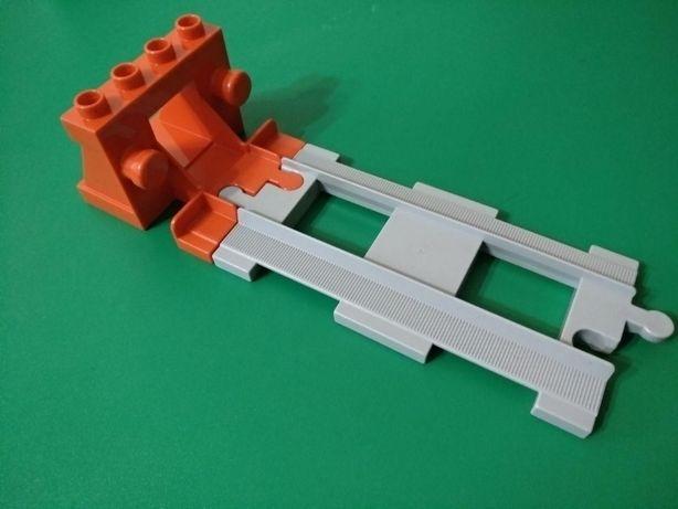 Лего Дупло Lego Duplo Тупик для железной дороги. Оригинал новый.
