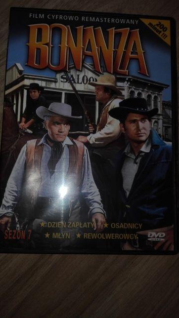 Bonanza - western kultowy serial sezon 7 film DVD cyfrowo remasterow.