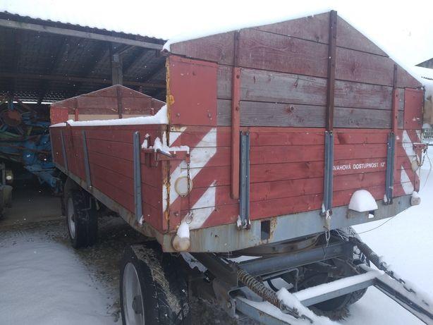 Burty drewniane z nadstawkami 70cm do przyczepy czeskiej 7t