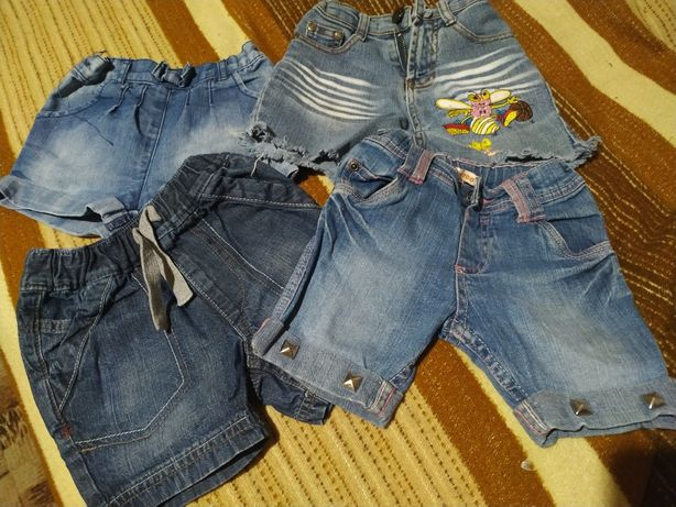 Шорты джинсовые 100грн за все