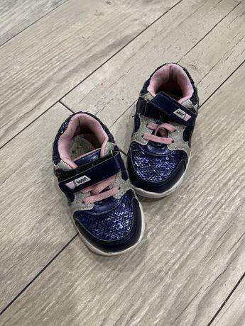 Кроссовки детские для девочки синие