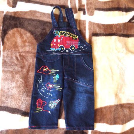 Продам джинсы для мальчика на 6-9 мес