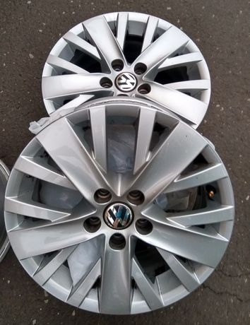 Felgi aluminiowe VW Polo 6R 5x100 R15 oryginał oryginalne Skoda Seat
