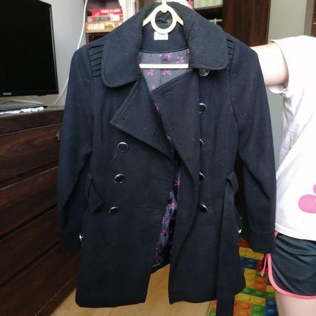 Płaszcz dziewczęcy 8-9 lat