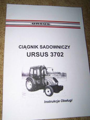 Instrukcja obsługi Ursus 3702,oryginał PL