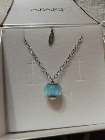 Srebrny łańcuszek Apart beads