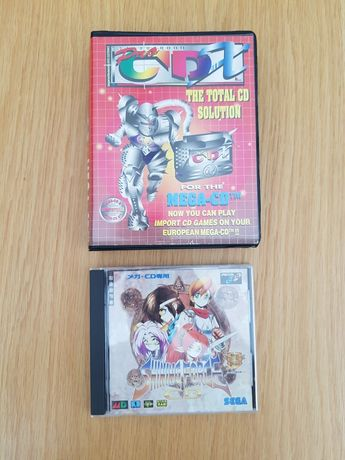 CDX pro mega CD sega CD + shining force