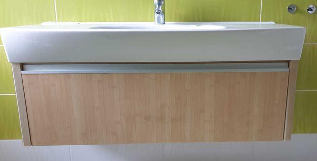 Łazienka umywalka z szafką