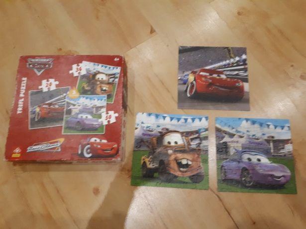 Puzzle Cars 3 sztuki