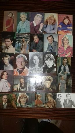 Коллекция фотографий артистов.
