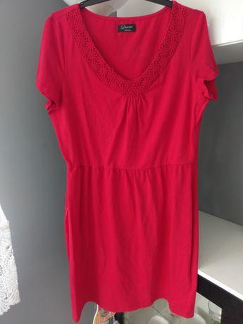 Nowa czerwona sukienka letnia 44 C&A