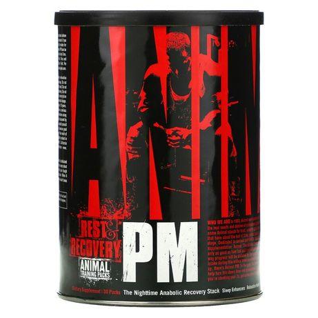 Universal Nutrition, Animal PM, ночная добавка для усиления синтеза бе