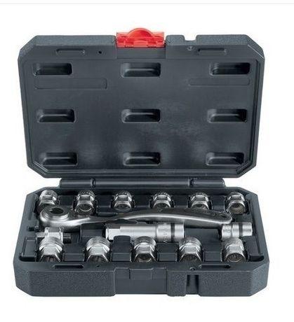 Komplet kluczy nasadowych w walizce 15elem