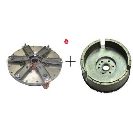 Sprzęgło kompletne Oryginał Ursus C-360 3P + Koło Zamachowe Skropol