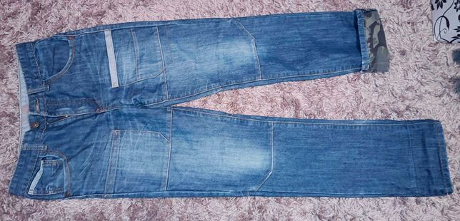 DENIM spodnie 164 170 jeansowe