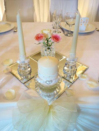 Зеркало 12х12 см под вазы, под свечи, для красоты и романтики