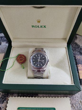 Rolex Datejust preto, mecanismo automático