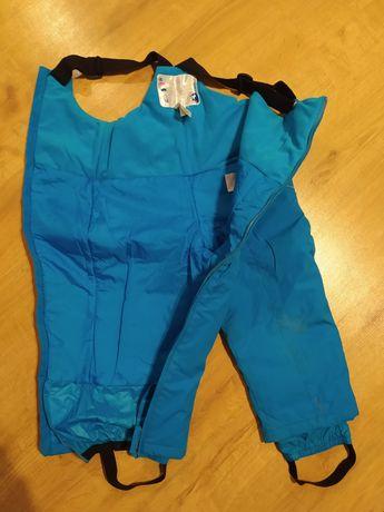 Spodnie śniegowce narciarskie 98