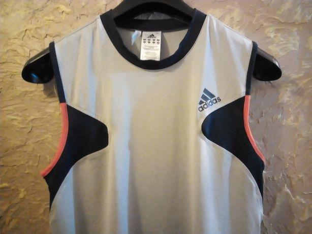 Koszulka termoaktywna t-shirt sportowa kompresyjna adidas M.