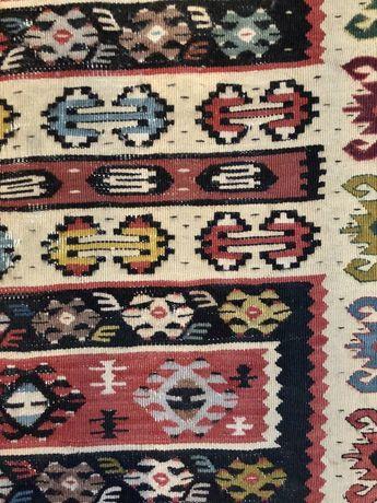 Dywan Kilim tkany na płasko perski 105/150 perski boho vintage
