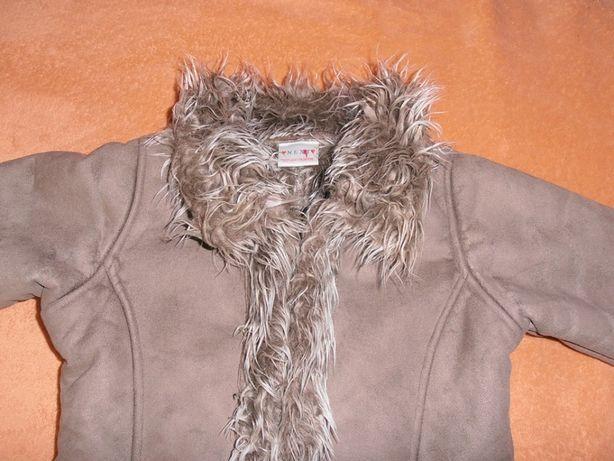 Nowe ciepłe futerko zimowe NEXT rozmiar 122 cm.