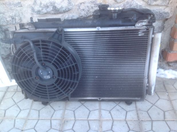 Hyundai Matrix 01-10 радиатор диффузор телевизор
