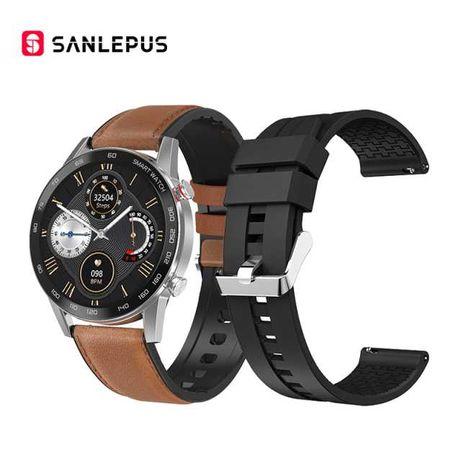 Smartwatch dla mężczyzn  SANLEPUS 2021 z EKG + wiele funkcji