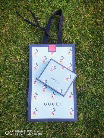 Gucci Disney mickey wallet portfel GG