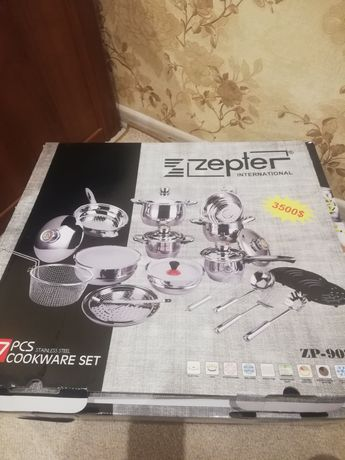 Подарочный набор посуды Zepter +подарок ножи