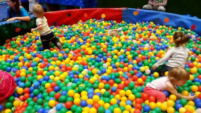 Шарики для сухих бассейнов, мягкие шарики