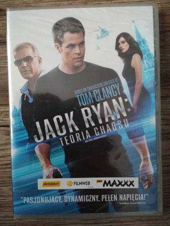 Jack Ryan Teoria Chaosu nowy film DVD w folii