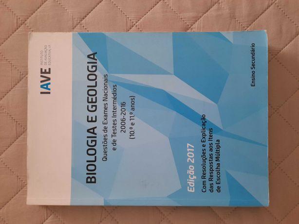 "Livro IAVE exame nacional ""BIOLOGIA E GEOLOGIA"""