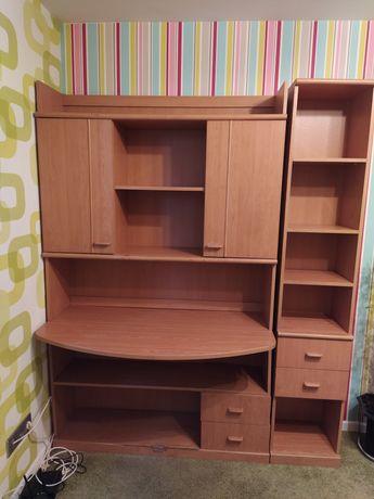 Письменный стол,шкаф,полки,детская,спальня,гарнитур