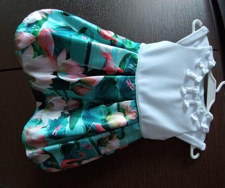 Elegancka, piękna sukienka 9-12 m.