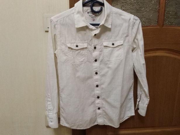 Стильная рубашка M&S на подростка