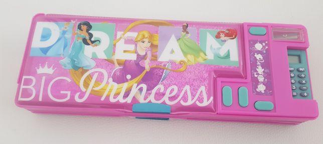 Disney Princess piórnik  z gadzetami nowy