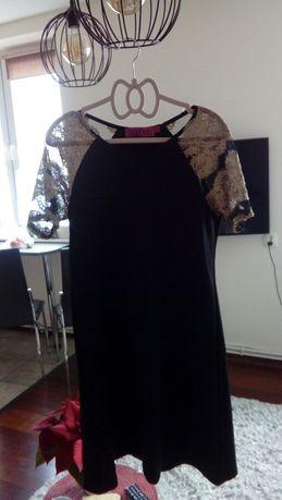 Boohoo sukienka czarna